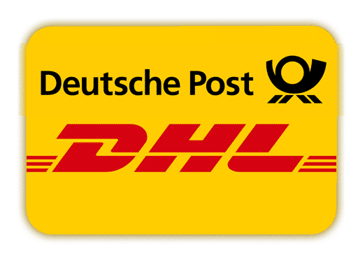 DHL Deutsche Post Logo Shipping Sauer & Tröger Table Tennis