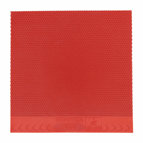Table Tennis Half Long Pimple Hipster Red 1.1 mm Top