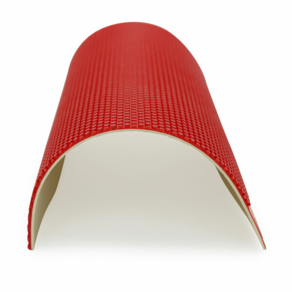 Table Tennis Half Long Pimple Hipster Red 1.1 mm wavy