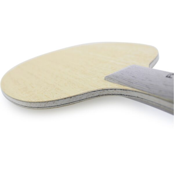 Table Tennis Blade Black & White Back Concave Back