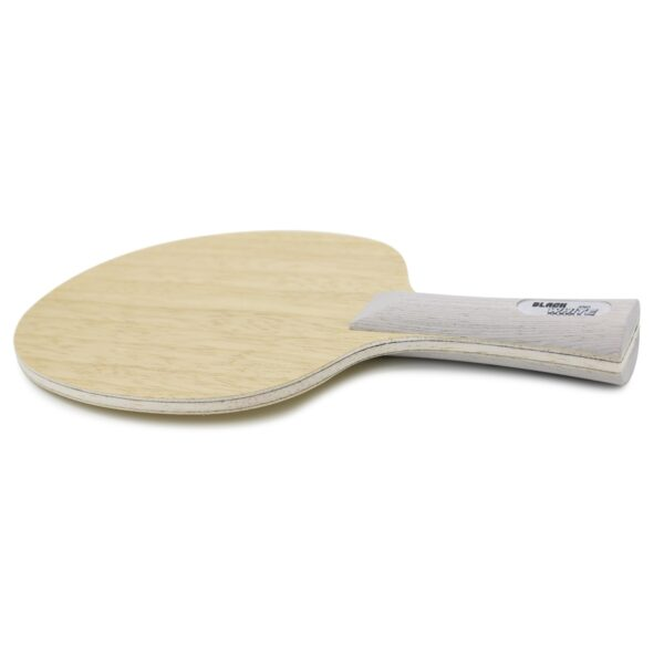Table Tennis Blade Black & White Back Concave Side