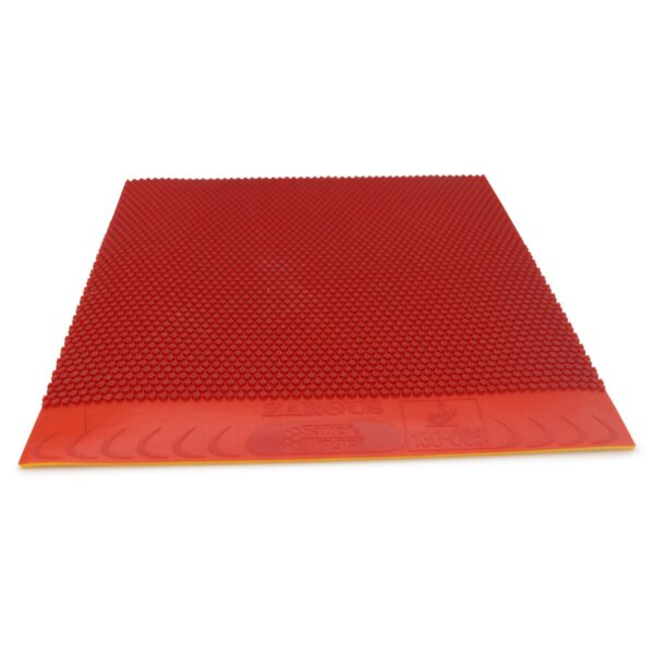 Table Tennis Short Pimple Zargus Red 2.0 mm Front