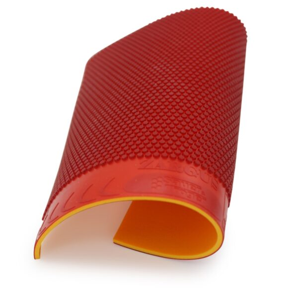Table Tennis Short Pimple Zargus Red 2.0 mm wavy