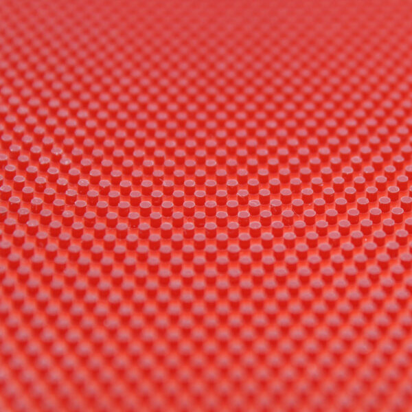 Table tennis Long Pimple Easy P Red 1.0 mm Close