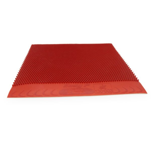 Table tennis Long Pimple Easy P Red 1.0 mm Front