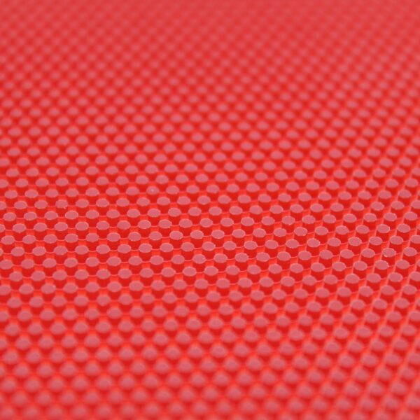 Table Tennis Long Pimple Schmerz Red 0.5 mm structure