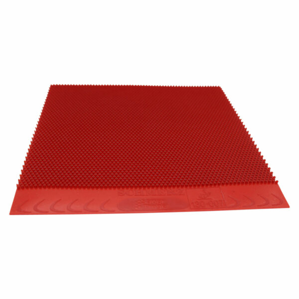 Table Tennis Long Pimple Schmerz Red 0.5 mm Fron