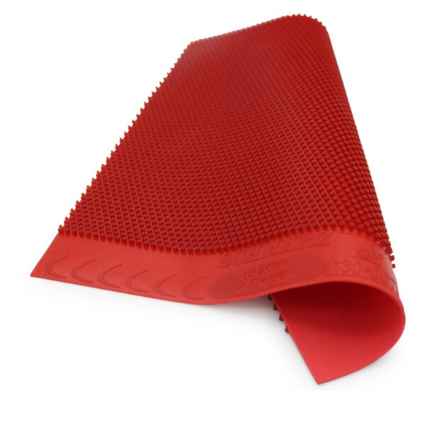 Table Tennis Long Pimple Schmerz Red 0.5 mm wavy