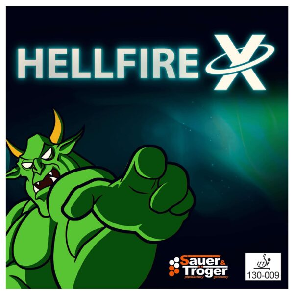Long pimple Hellfire X Cover